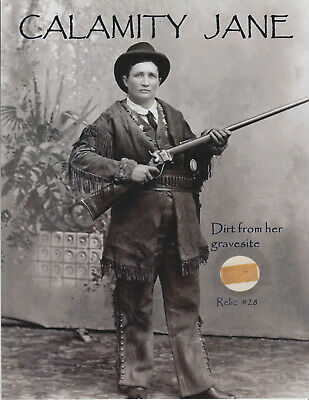 CALAMITY JANE - COLLECTIBLE REMNANT - 11x9