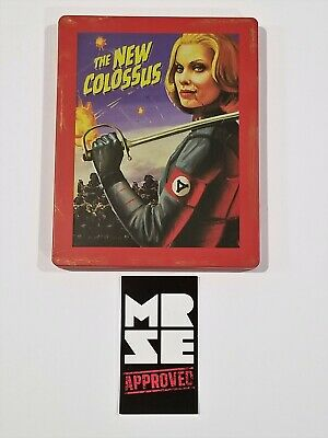 Wolfenstein 2 New Colossus Steelbook / Case Only from Collector Edition No Game