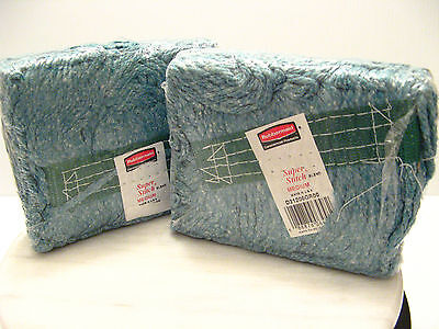 Rubbermaid Commercial Products SUPER STITCH GREEN MOP HEAD Lot of 2 D21206GR00