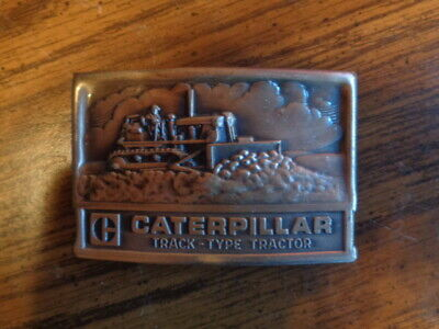 Vintage Caterpillar Tractor Co. Bulldozer Belt Buckle