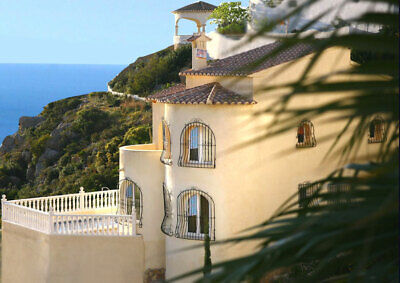 Holiday Villa Spain Javea Rent 4 Bed Private Pool Front Line Sea Views June