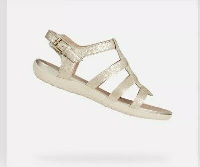 Summer Leather Sandals Light W230Geox Ladies Strappy Vega Casual EQdxoWCrBe
