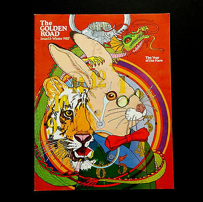 Grateful Dead The Golden Road Magazine 1987 Winter Issue 13 Year Of The Hare Art