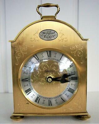 Vintage Brass Mantle / Carriage Clock - Battery Movement