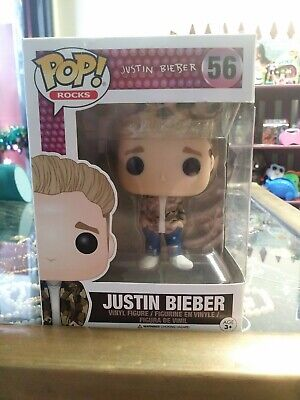 Funko Pop Rocks Music Justin Bieber Action Figure
