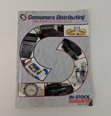 Vintage Consumers Distributing 1996 Annual Catalog Toys Polly Pocket Lego Sony