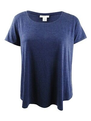 Style & Co. Women's Plus Size T-Shirt 1X, Industrial Blue
