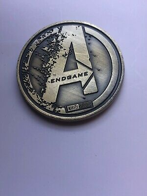 Avengers Endgame (2019) Opening Night Fan Event Promo Coin Gold
