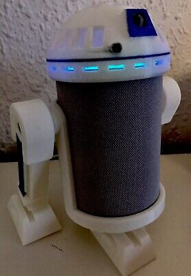 """Disfraz"" de R2D2 para Amazon Alexa ECHO ( No PLUS) NO INCLUYE DISPOSITIVO ECHO."