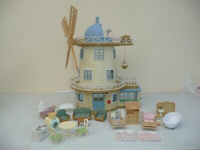sylvanian families Fieldview windmill furnished