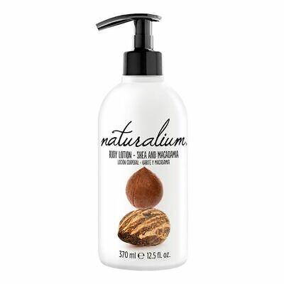S0545051 128561 Body Cream Shea & Macadamia Naturalium (370 ml) Naturalium