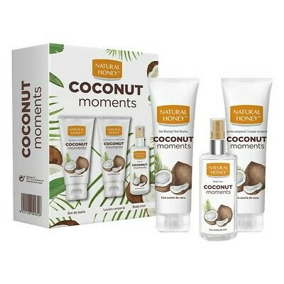 S0564382 80034 Personal Care Set Coconut Moments Natural Honey (3 pcs) Natural H
