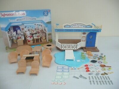 sylvanian families seaside restaurant Boxed