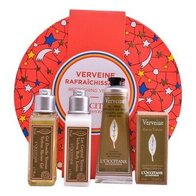 S0562938 118137 Unisex Cosmetic Set Refreshing Verveine L´occitane (4 pcs) L'occ