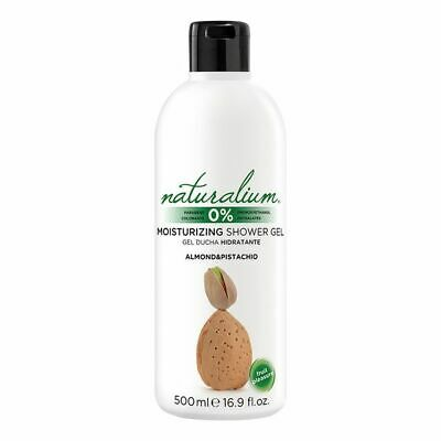 S0556488 118137 Shower Gel Almond & Pistachio Naturalium (500 ml) Naturalium