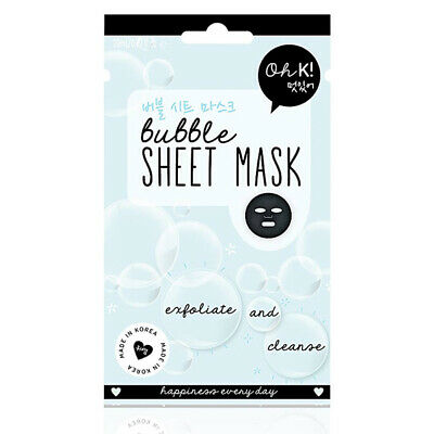 S0545859 89588 Facial Mask Bubble Exfoliate Oh K! (20 ml) Oh K!