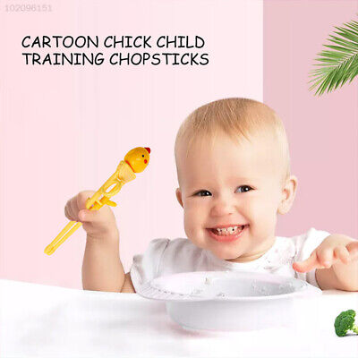 3797 Cute Learning Chopsticks Easily Hold Foods Silicone 1 Pairs