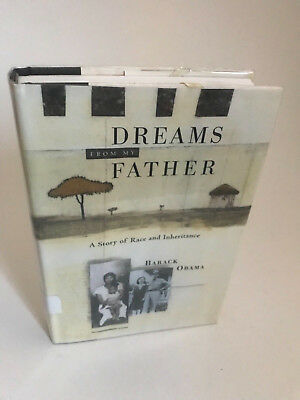 Dreams From My Father 1st edition ex library Barack Obama