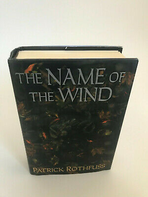The Name of The Wind 1st edition Patrick Rothfuss