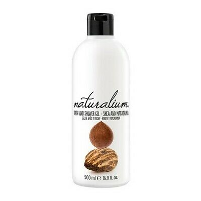 S0545050 128561 Shower Gel Shea & Macadamia Naturalium (500 ml) Naturalium