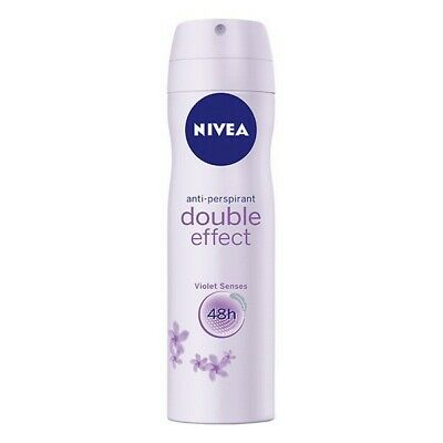 S0542390 85176 Spray Deodorant Double Effect Nivea (200 ml) Nivea