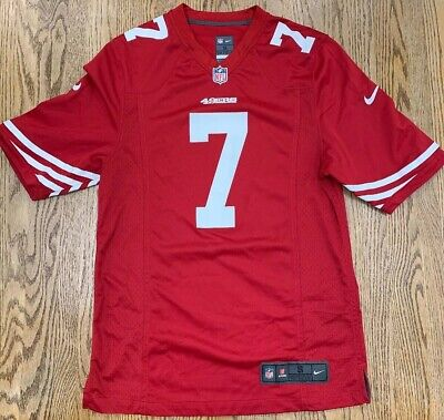 3053d39ac62 Authentic Nike On Field San Francisco 49ers Colin Kaepernick NFL Jersey  Men's S