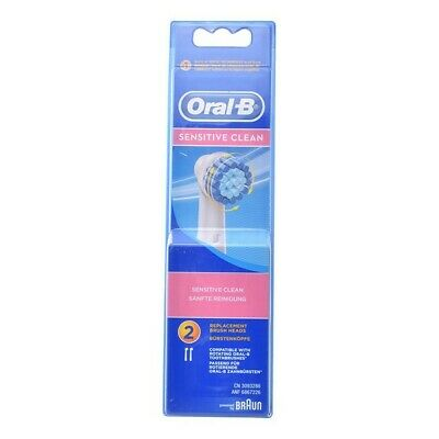 S0557235 264877 Replacement Head Sensitive Clean Oral-B (2 uds) Oral-B