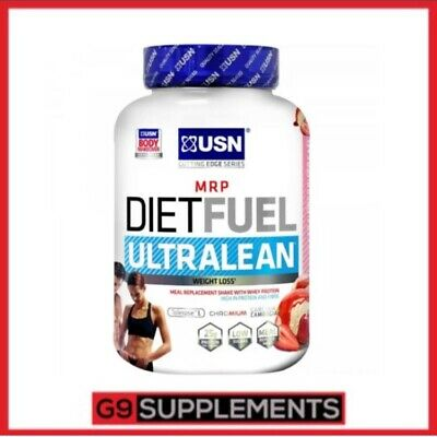 USN DIET FUEL ULTRALEAN whey protein shake meal replacement weight loss