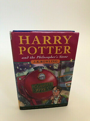 Harry Potter and The Philosophers Stone 1st edition UK 15th printing JK Rowling