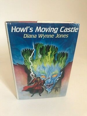 Howl's Moving Castle 1st edition ex library Diana Wynne Jones