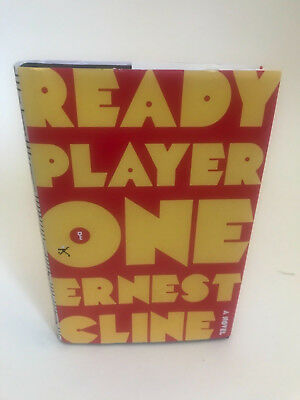 Ready Player One 1st edition Ernest Cline signed