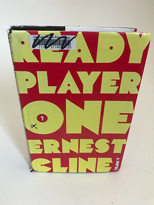 Ready Player One 1st edition ex library Ernest Cline