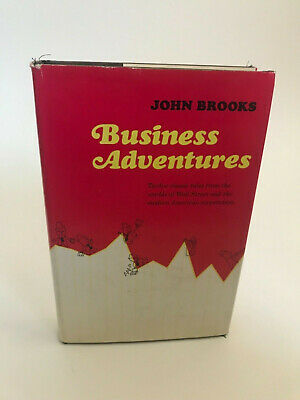 Business Adventures 1st edition 2nd printing John Brooks signed