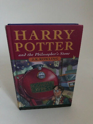 Harry Potter and The Philosophers Stone 1st edition UK 17th printing JK Rowling
