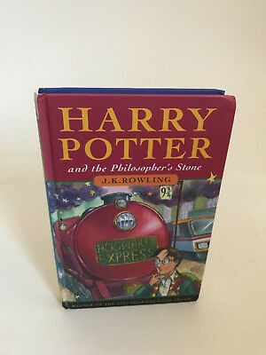 Harry Potter and The Philosophers Stone 1st edition UK 10th printing JK Rowling
