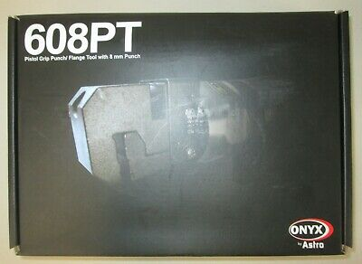 ONYX Pistol Grip Punch//Flange Tool with 8mm Punch AST608PT Brand New!