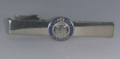 Great Seal of the State of Missouri  Vintage Tie Bar Clip dd-1e