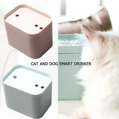 Pet Smart Water Dispenser Cat Dogs Bowl Automatic Water Fountain with USB Cable