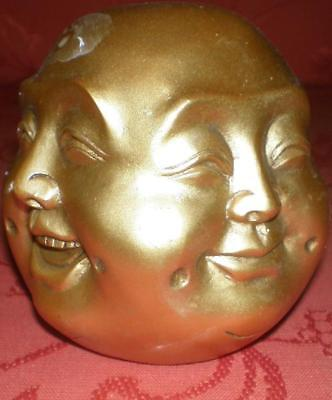 Latex Mould for making Lovely 4 faced buddha candle/soap mould