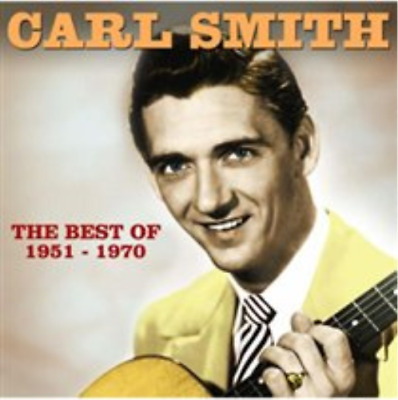 Carl Smith-The Best of Carl Smith (UK IMPORT) CD NEW