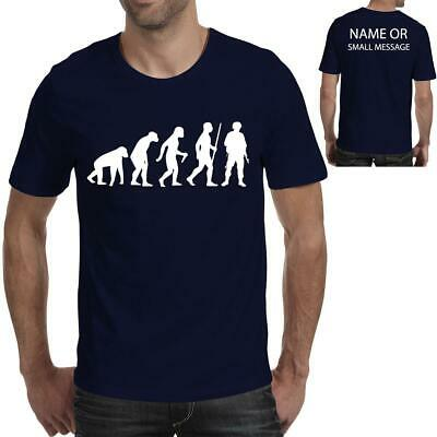 Evolution of a soldier printed T-shirt