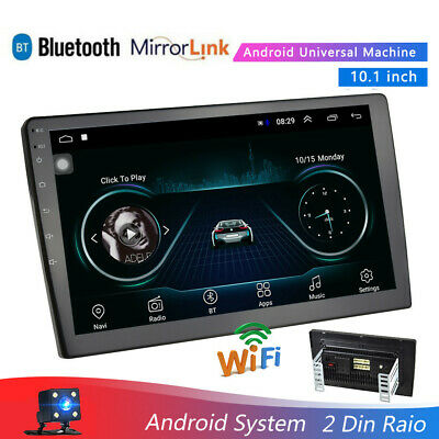 """Android 9.1 Car Stereo Radio MP5 Player 10.1"""" Car GPS Navigation WIFI Touch+Cam"""