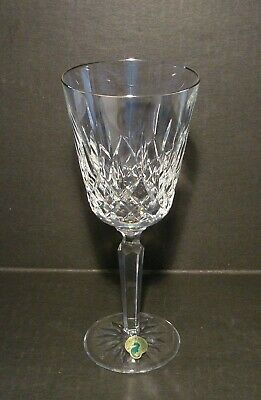 Waterford Crystal Platinum Lismore Tall Water Goblet**Made In Ireland**Wow!!!