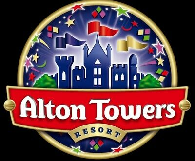 2x Alton Towers Tickets valid 11th August 2019