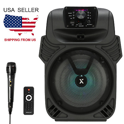 ATALAX THUMPER   250W Portable Bluetooth Speaker with Microphone