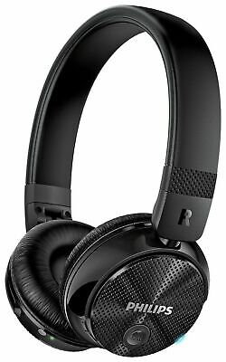 PHILIPS Bluetooth Wireless Headphones   Noise Cancelling OnEar black NEW