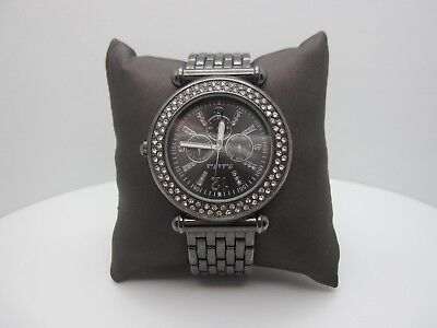 Peck and Peck Crystals Analog Dial Watch (A475)