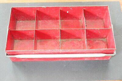 Metal Fitting Tray/Caddie with 8 compartments - Perfect for copper fittings