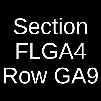 2 Tickets Carrie Underwood, Maddie and Tae & Runaway June 6/16/19