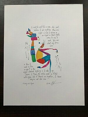 5 Five Brian Andreas Story People Prints 1993 1995 1997 Hanson
